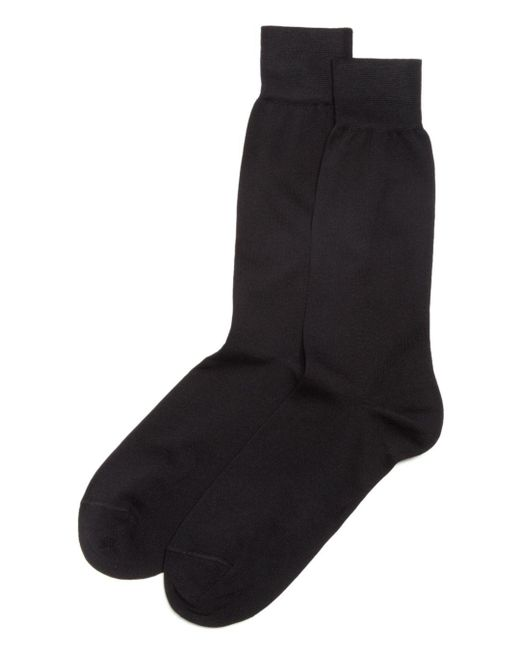 Bloomingdale's - Black The Men's Store At Bloomingdales Cotton Blend Dress Socks for Men - Lyst
