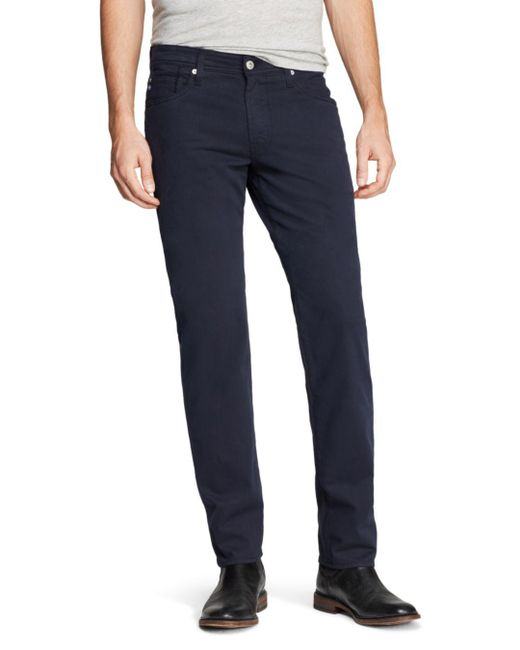 AG Jeans - Blue Graduate New Tapered Fit Twill Pants for Men - Lyst