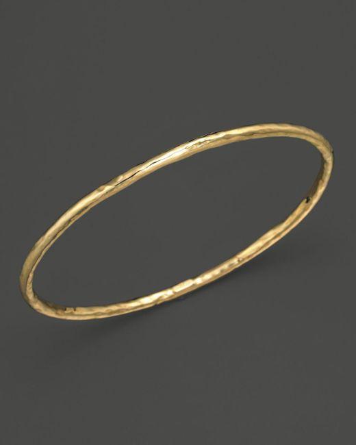 Ippolita - Metallic 18k Gold #1 Glamazon Bangle - Lyst