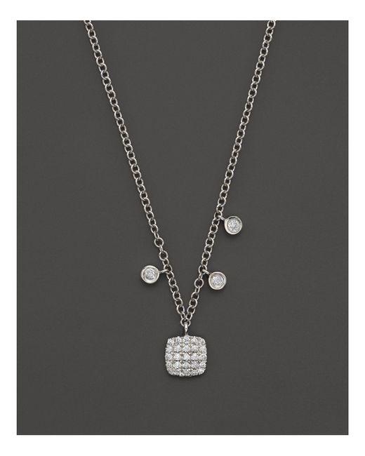 "Meira T | Metallic 16"" | Lyst"
