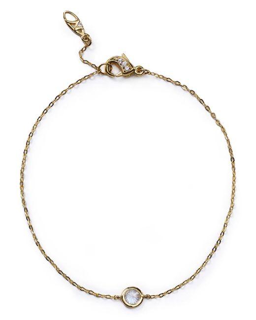 Nadri - Metallic Cubic Zirconia Bracelet - Lyst