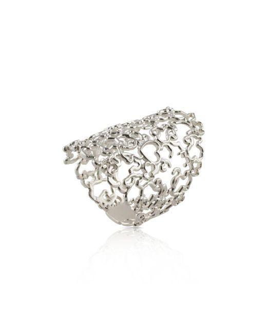 Tous - Metallic Milosos Ring - Lyst