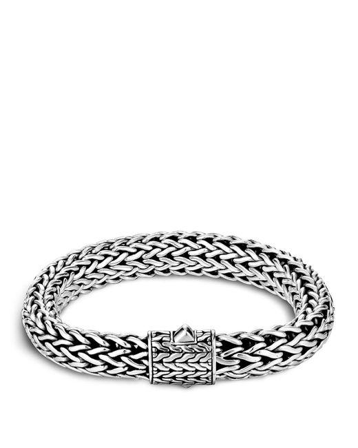 John Hardy   Metallic Men's Sterling Silver Large Chain Bracelet for Men   Lyst