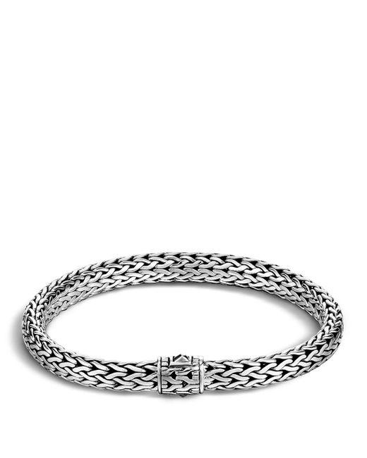 John Hardy | Metallic Men's Sterling Silver Medium Chain Bracelet for Men | Lyst