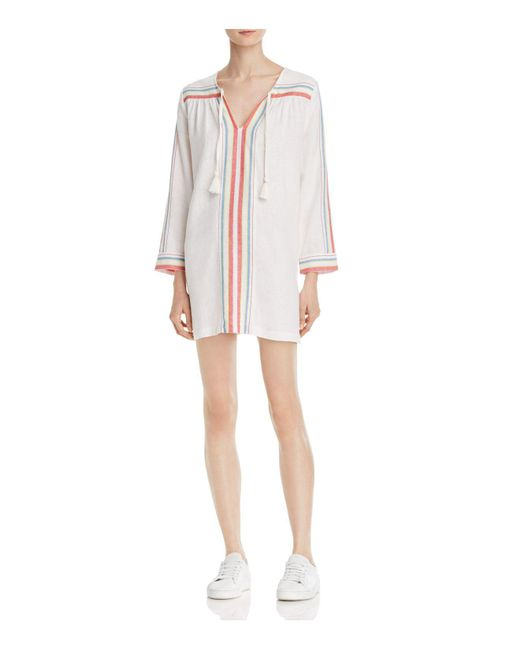 Soft Joie | White Daria D Striped Tunic Dress | Lyst