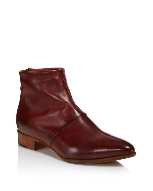 Alberto Fermani | Multicolor Women's Bellina Leather Ankle Booties | Lyst