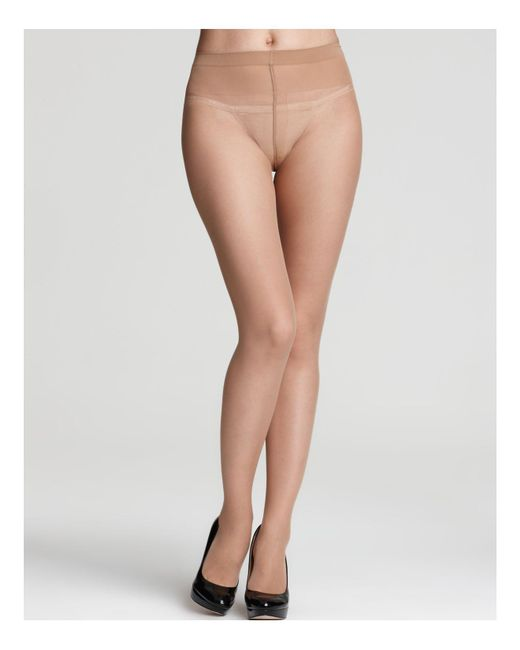 Wolford - Black Individual 10 Sheer Tights - Lyst