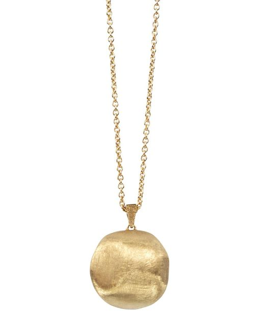 Marco Bicego | Metallic 18k Yellow Gold Africa Bead Necklace, 31.5"