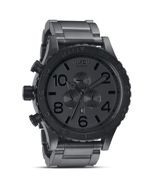 Nixon | Black The 51-30 Chrono Watch, 51.25mm for Men | Lyst
