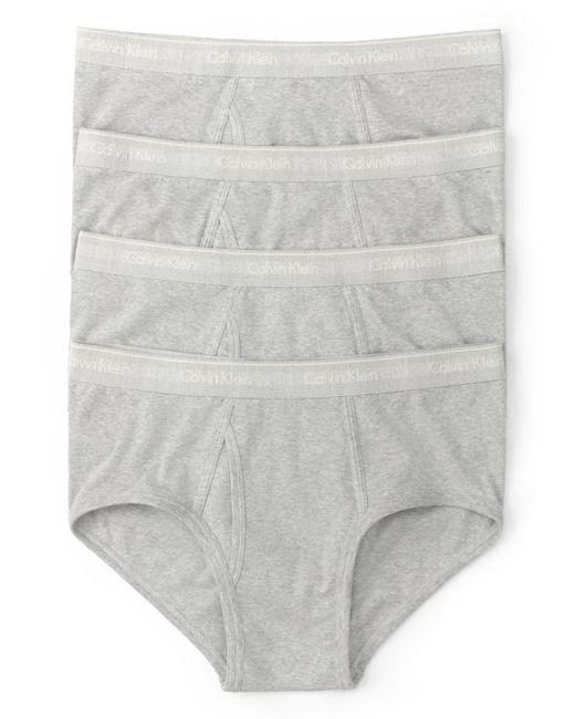 Calvin Klein - Gray Pack Of 4 for Men - Lyst