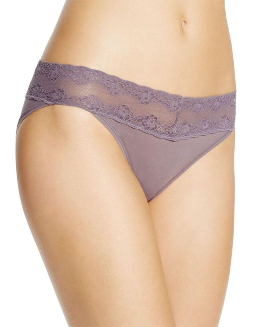 Natori - Multicolor Bliss Perfection One-size Thong - Lyst
