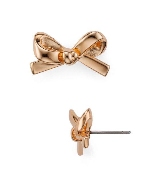 Kate Spade - Multicolor Bow Stud Earrings - Lyst