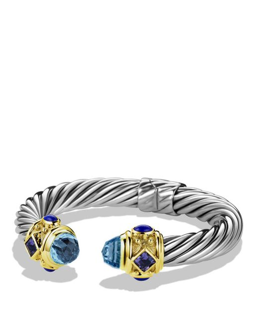 David Yurman - Blue Iolite & Gold - Lyst