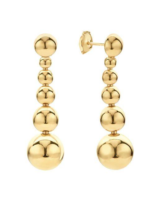 Lagos - Metallic Caviar Gold Collection 18k Gold Graduated Six Bead Drop Earrings - Lyst