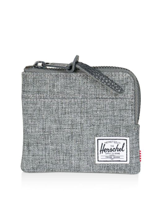 Herschel Supply Co. - Gray Johnny Zip Coin Case - Lyst