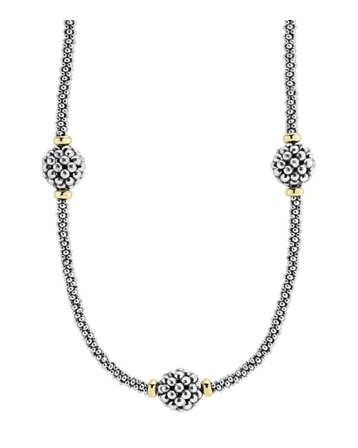 Lagos   Metallic 'maya' Teardrop Pendant Necklace   Lyst