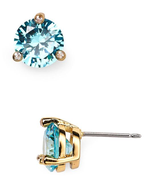 Kate Spade - Blue Rise And Shine Stud Earrings - Lyst