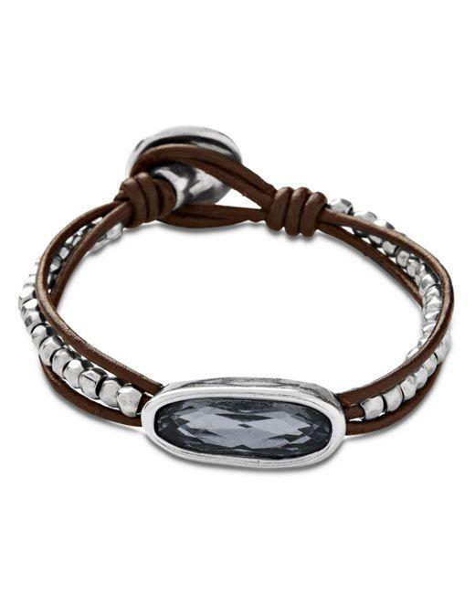 Uno De 50 - Metallic The Tribe Bracelet - Lyst