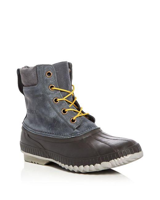 Sorel | Gray Cheyanne Waterproof Boots for Men | Lyst
