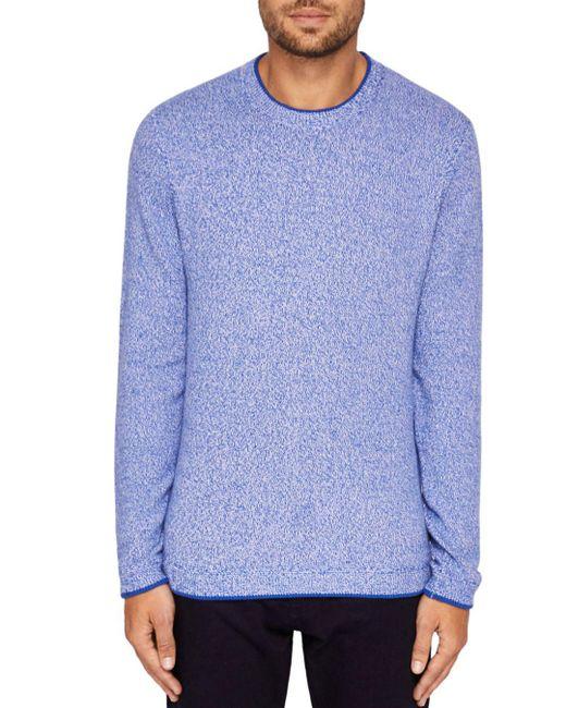 Ted Baker - Blue Cirkus Twisted Sweater for Men - Lyst
