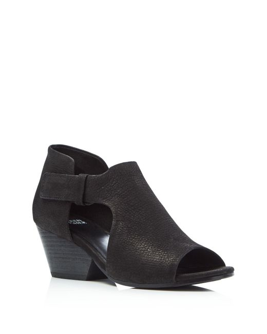 Eileen Fisher - Black Iris Suede Ankle Boots - Lyst