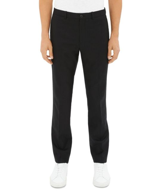 Theory - Black Zaine Gearheart Stretch Slim Fit Pants for Men - Lyst