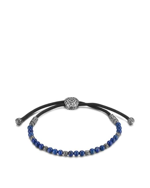 John Hardy | Blue Men's Sterling Silver Classic Chain Beaded Bracelet With Lapis Lazuli for Men | Lyst