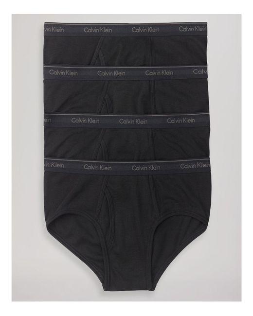 Calvin Klein | Black Pack Of 4 for Men | Lyst