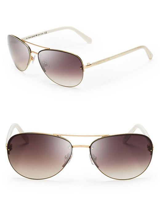 Kate Spade - White 59mm - Lyst