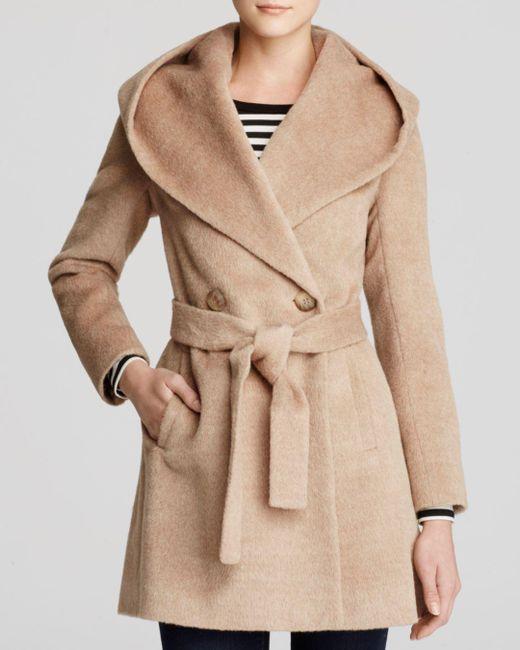 Trina Turk - Natural Grace Hooded Alpaca Coat - Lyst