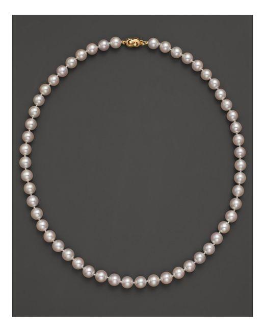 """Tara Pearls   Metallic 18""""   Lyst"""