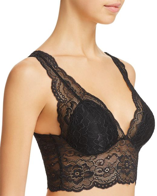 b546eaae86d Passionata Lulu Wireless Padded Lace Bralette in Black - Save 60% - Lyst