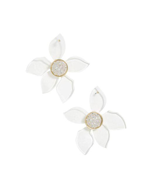 BaubleBar - Multicolor Lira Lucite Floral Drop Earrings - Lyst