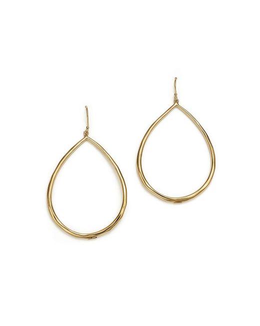 Ippolita | Metallic 18k Yellow Gold Glamazon Faceted Large Teardrop Earrings | Lyst
