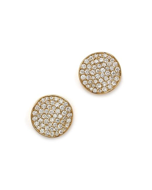 Ippolita | Metallic 18k Gold Stardust Studs With Diamonds | Lyst