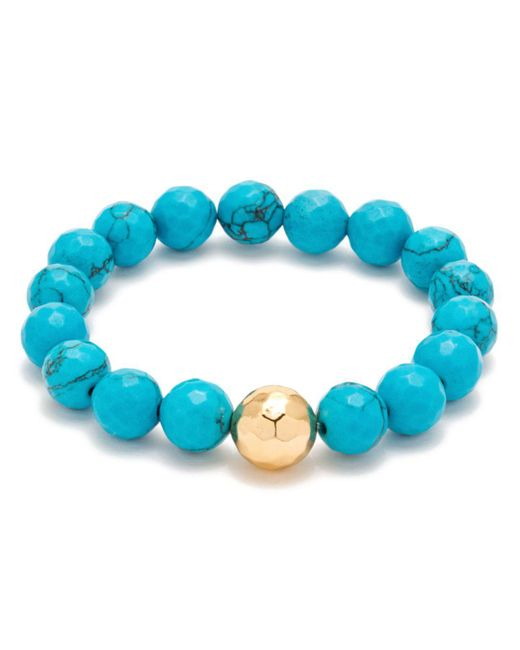 Gorjana - Blue Power Gem Statement Bracelet - Lyst