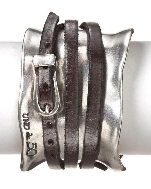 Uno De 50 - Metallic Ibiza Wrap Cuff - Lyst