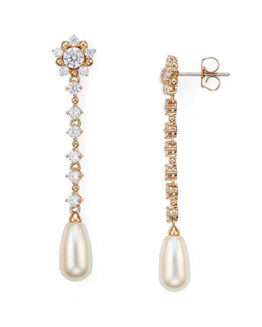 Nadri | Multicolor Linear Drop Earrings | Lyst
