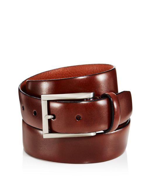 Trafalgar | Brown Marco Leather Belt for Men | Lyst