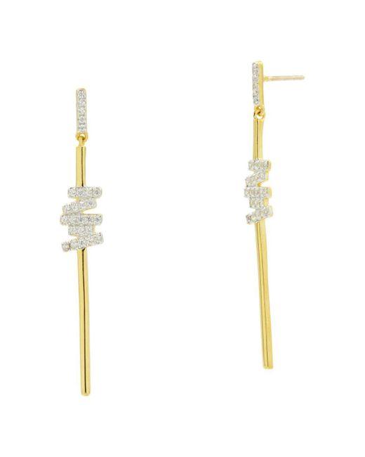 Freida Rothman - Metallic Radiance Drop Earrings - Lyst
