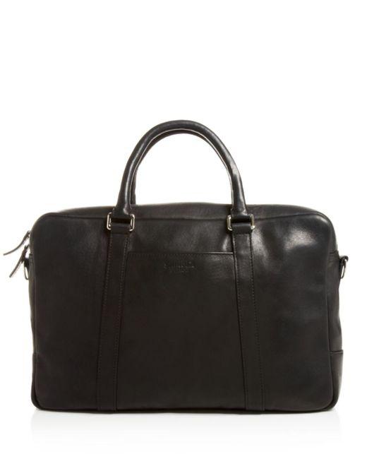 Shinola - Black Slim Leather Briefcase for Men - Lyst