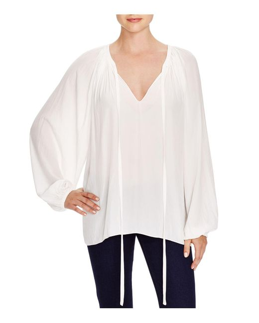 Ramy Brook - White Top - Paris Caftan - Lyst