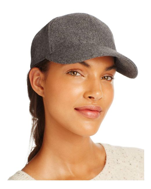 august hat company | Gray Solid Baseball Cap | Lyst