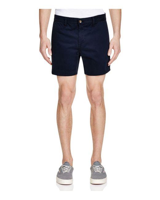 Rag & Bone | Blue Chino Shorts for Men | Lyst