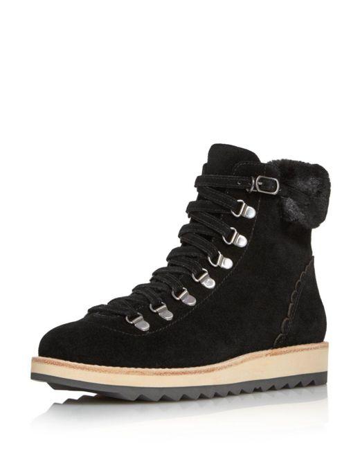 Kate Spade - Black Maira Combat Boots - Lyst