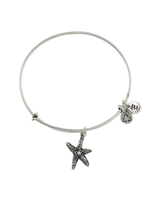 ALEX AND ANI | Metallic Starfish Bangle | Lyst