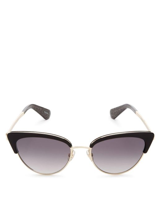 Kate Spade - Metallic Women's Jahnam Cat Eye Sunglasses - Lyst