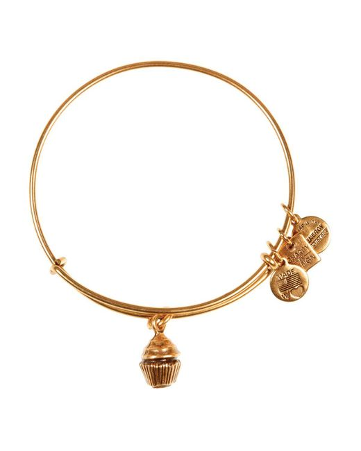 ALEX AND ANI | Metallic Cupcake Expandable Wire Bangle, Charity By Design Collection | Lyst