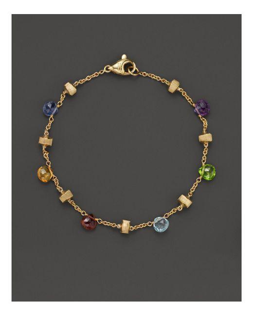 Marco Bicego   Metallic Paradise Mixed Sapphires Bracelet   Lyst