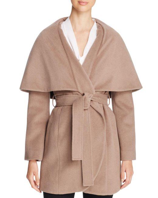 T Tahari - Multicolor Marla Oversized Shawl Collar Coat - Lyst